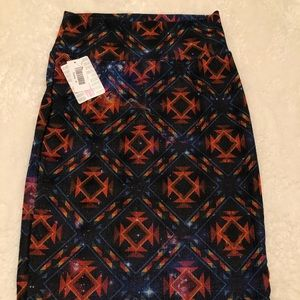NWT gorgeous LulaRoe galaxy skirt!